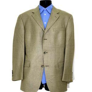 Oscar de la Renta 42R Silk Blend Sport Coat